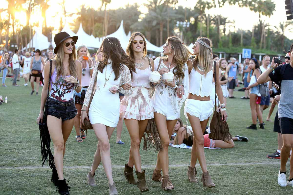 Coachella Festival looks 2015 - 2015 Summer Hairstyles